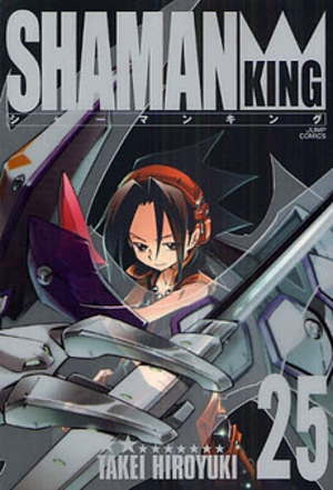 Shaman King - Cover of the 25th Japanese volume of Shaman King, published by Shueisha on March 4, 2009