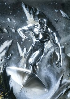 Silver Surfer comic book character