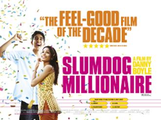 Slumdog Millionaire - British release poster