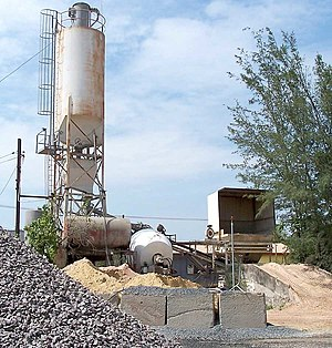 Ready-mix concrete - Small batching plant for local small deliveries