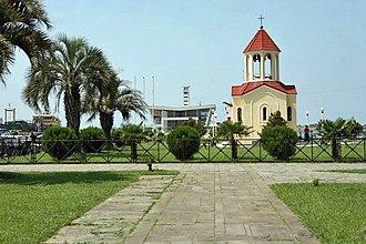 Poti - Chapel near the port of Poti