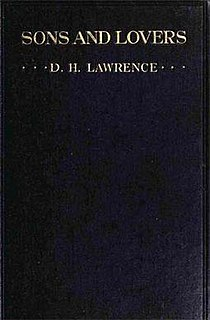 <i>Sons and Lovers</i> 1913 novel by DH Lawrence