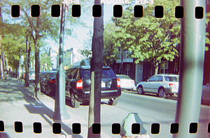 Sprocket hole photography - Kodak Ektachrome 200, shot in a Holga 120CFN