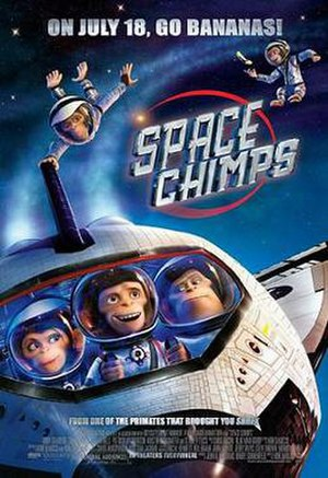 Space Chimps - Theatrical release poster