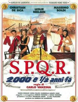 S.P.Q.R.: 2,000 and a Half Years Ago - Image: Spqr film