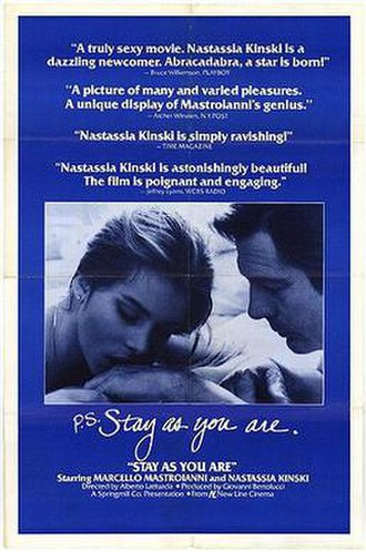 Stay as You Are - US theatrical release poster