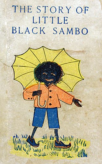 The Story of Little Black Sambo - Cover of 1900 first US edition published by Frederick A. Stokes