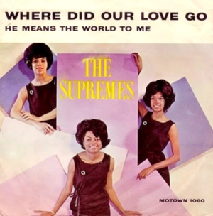 Where Did Our Love Go - Image: Supremes where did our love go 45cover
