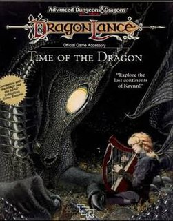 <i>Time of the Dragon</i> tabletop role-playing game supplement