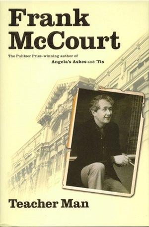Teacher Man - Image: Teacher Man (Frank Mc Court memoir) cover art