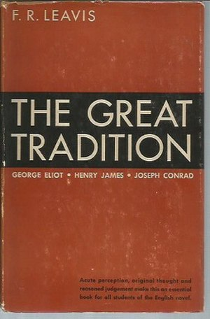 The Great Tradition - First US edition (publ. George W. Stewart)