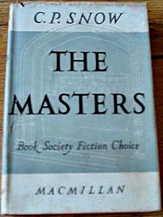 The Masters (novel) - First edition
