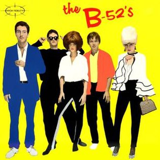 The B-52's (album) - Image: The B 52's cover