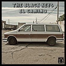The Black Keys El Camino Album Coverjpg