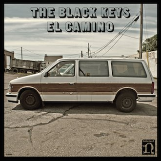 El Camino (The Black Keys album) - Image: The Black Keys El Camino Album Cover