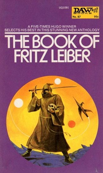 The Book of Fritz Leiber - Cover of The Book of Fritz Leiber