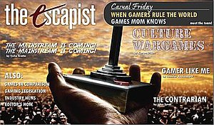 The Escapist (magazine) - Image: The Escapist Magazine Issue 1