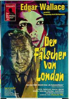 <i>The Forger of London</i> 1961 film