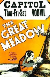 <i>The Great Meadow</i> 1931 film by Charles Brabin
