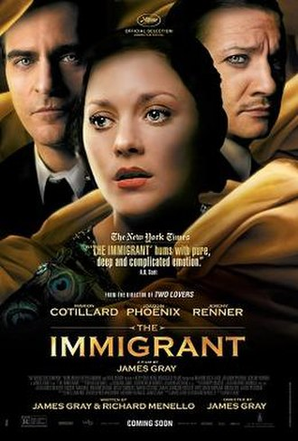 The Immigrant (2013 film) - Film poster