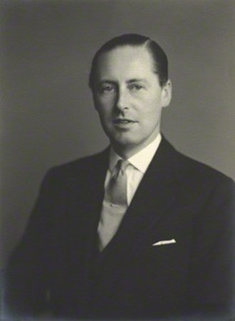 John Nevill, 5th Marquess of Abergavenny - Image: The Marquess of Abergavenny KG, OBE