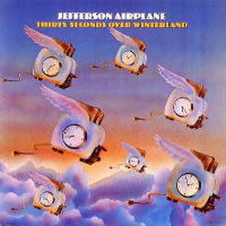 Delrina - The Jefferson Airplane album, Thirty Seconds Over Winterland from 1973, with the original depiction of flying winged toasters