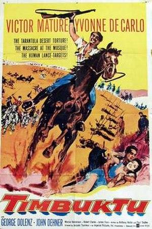 Timbuktu (1959 film) - Original film poster
