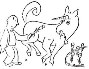 Detail from James Thurber's original illustration