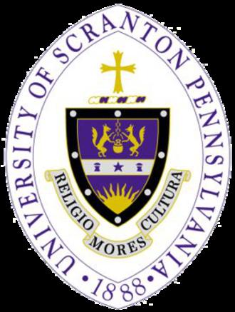 University of Scranton - Image: University of Scranton seal