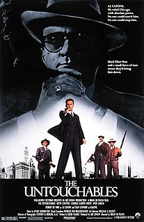 <i>The Untouchables</i> (film) 1987 American film directed by Brian De Palma