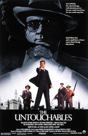 The Untouchables (film) - Theatrical release poster