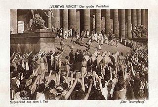 <i>Veritas Vincit</i> (film) 1919 film by Joe May