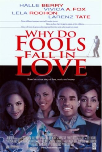 Why Do Fools Fall in Love (film) - Theatrical release poster
