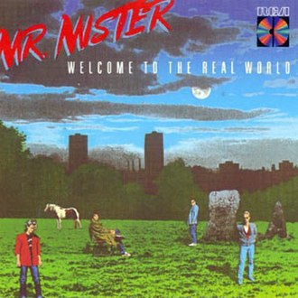 Welcome to the Real World (Mr. Mister album) - Image: Welcome to the Real World CD cover