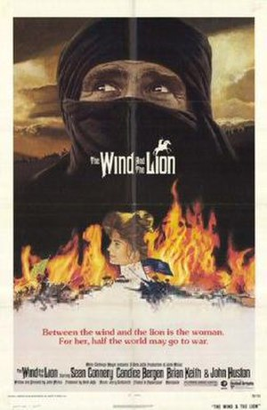 The Wind and the Lion - Pre-release promotional poster