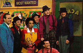 Where in the World Is Carmen Sandiego? (game show) - The show's main cast during the final season premiere.