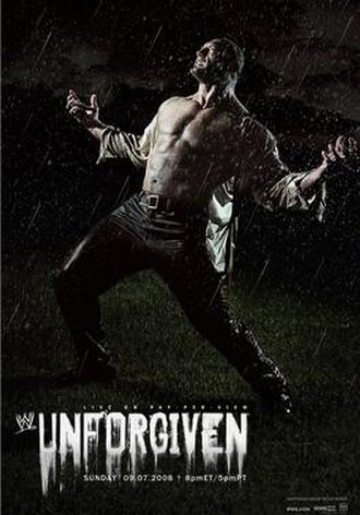 Unforgiven (2008) - Promotional poster featuring Batista