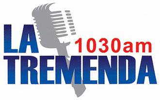 XESDD-AM - Image: XESDD latremenda 1030am logo