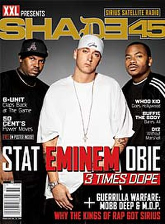 Shady Records - Issue cover of XXL Presents Shade 45
