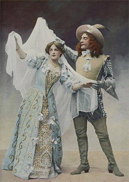 Loyse (Mlle. De Hally) and Olivier (Jean Perier) -La-belle-au-bois-dormant-duo.jpg