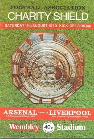 1979 FA Charity Shield - The match programme cover