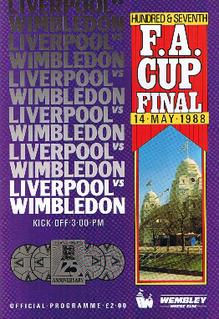 1988 FA Cup Final Football match