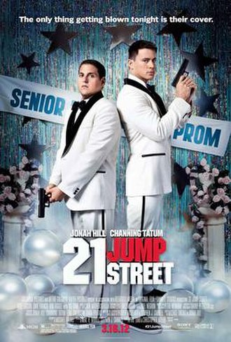 21 Jump Street (film) - Theatrical release poster