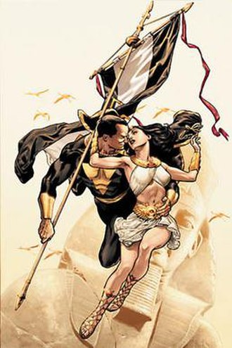 Isis (DC Comics) - Artwork for the cover of 52 Week Twelve, the debut of the character as Isis within the main DC Comics continuity. Art by J. G. Jones.