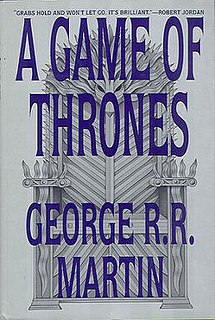<i>A Game of Thrones</i> Novel by George R. R. Martin