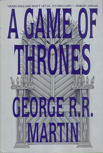 A Game of Thrones - First edition cover