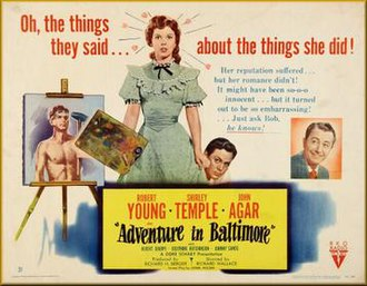 Adventure in Baltimore - Theatrical release poster