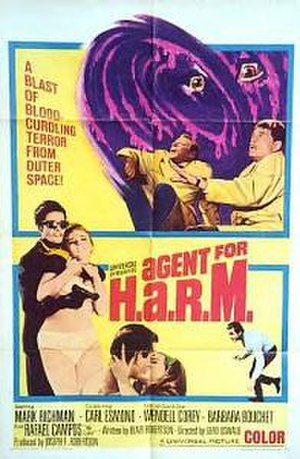 Agent for H.A.R.M. - Theatrical release poster.