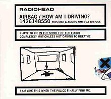 Airbag - How Am I Driving? (Radiohead EP - cover art).jpg