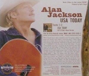 USA Today (song) - Image: Alanjackson UT